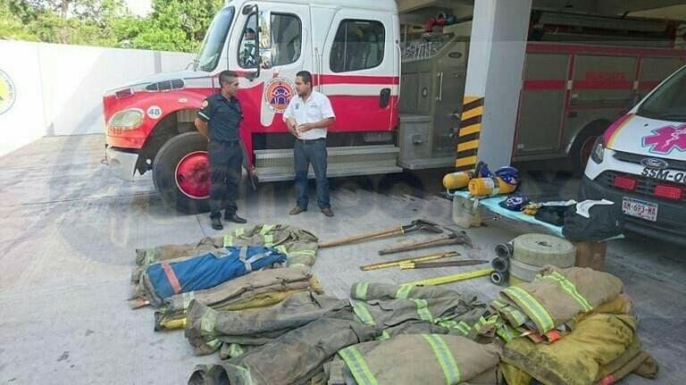 Gilberto Zarco también dio un agradecimiento a Roberto Rubio León por realizar las gestiones para la donación e indicó que hasta al momento la delegación cuenta con 10 elementos, una ambulancia donada por la Secretaría de Salud y una unidad más de bomberos