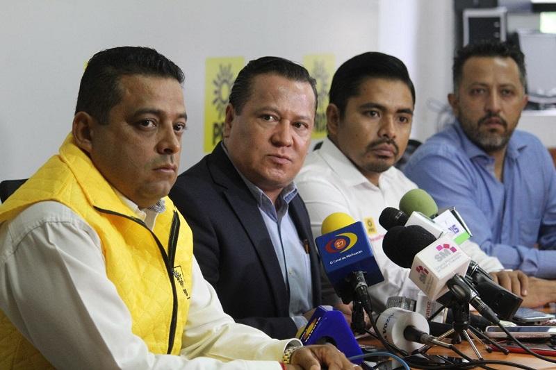 """""""Michoacán seguirá siendo epicentro de los cambios y de la nueva ruta de nuestro partido"""", aseguró, Martín García Avilés"""