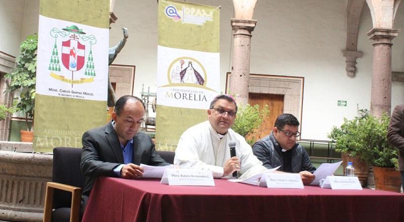 En otro tema, el obispo Víctor Aguilar anunció la apertura de un nuevo Centro de Escucha y de Atención a Víctimas de la Violencia en la Ribera del Lago de Pátzcuaro