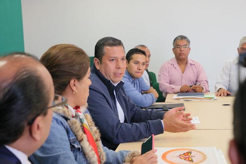 Al reunirse con representantes de las organizaciones, Juan Carlos Barragán les invitó a acercarse a la Secretaría de Desarrollo Social y Humano, y registrar sus agrupaciones