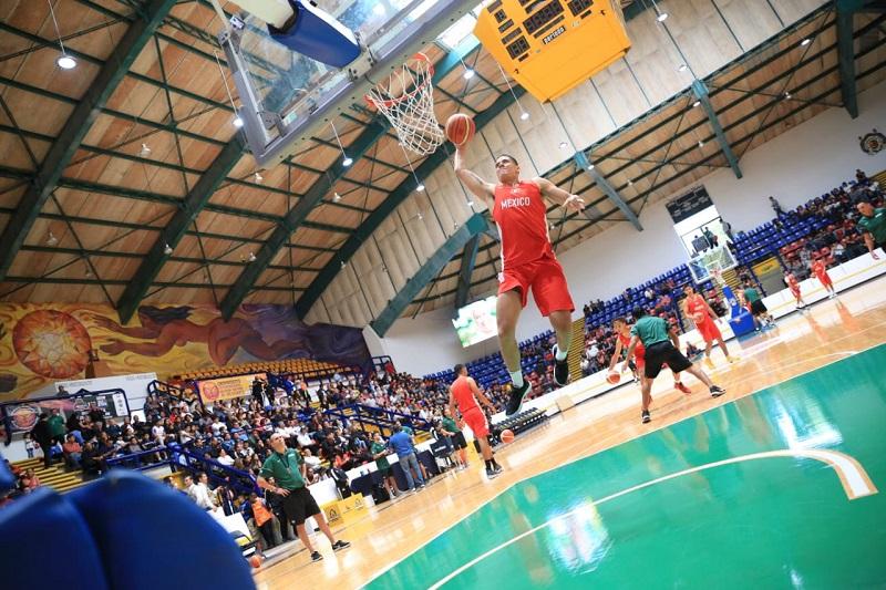 La Selección Mexicana de Baloncesto viene a dar impulso a las Academias de Baloncesto que se están aperturando en diversas regiones del estado