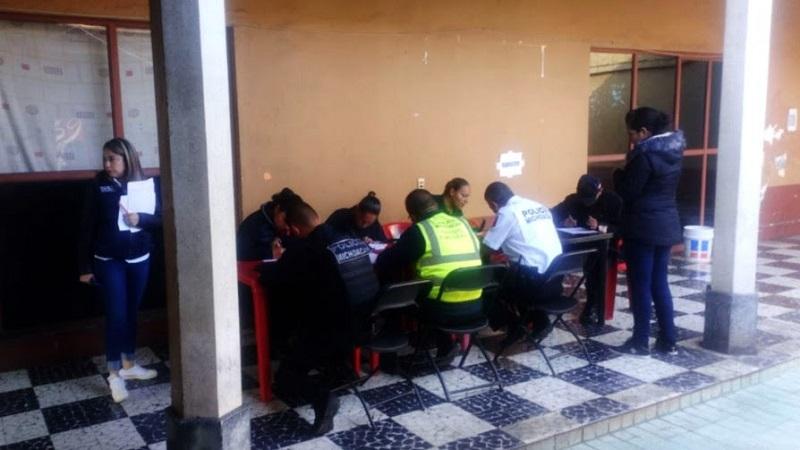 Los agentes que fueron valorados son pertenecientes a los municipios de Ario de Rosales, Charapan, Los Reyes, Nahuatzen, Paracho, Peribán, Tacámbaro, Uruapan, Taretan, Tingambato y Ziracuaretiro