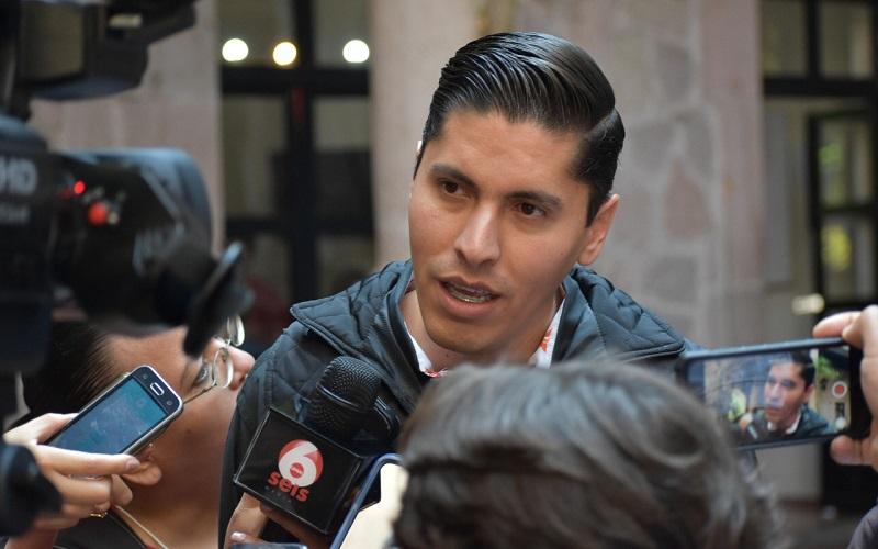 Javier Paredes señaló que no es momento de que se baje la guardia por parte de los tres niveles de gobierno, porque una de las mayores exigencias y necesidades que plantean los ciudadanos es sentirse seguros