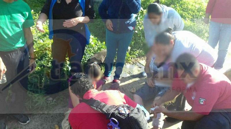 """Las personas lesionadas fueron identificadas como Janeth """"X"""" de 12 años, Yolanda """"X"""" de 48 años, Ana """"X"""" de 52 años, María de los Ángeles """"X"""" de 78 años, Erick """"X"""" de 32 años y Francisco """"X"""" de 46 años de edad"""