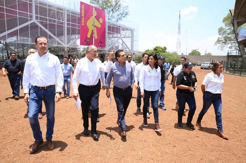 Se invierten 66 mdp en la remodelación de las siete áreas del Centro Deportivo Ejército de la Revolución