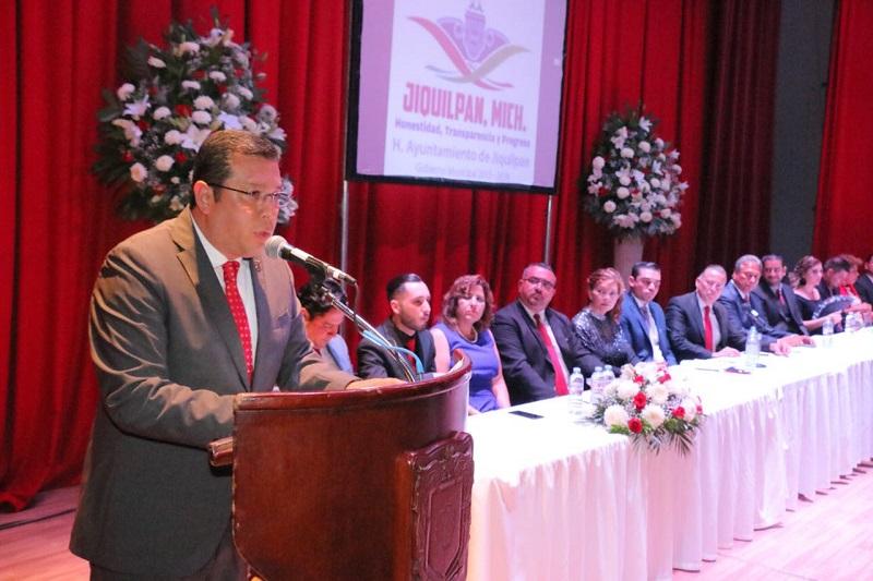 Barragán Vélez reconoció la labor de la administración 2015-2018, y la coordinación con el Ejecutivo Estatal, gracias a la cual se lograron concretar acciones en bien de todo el municipio
