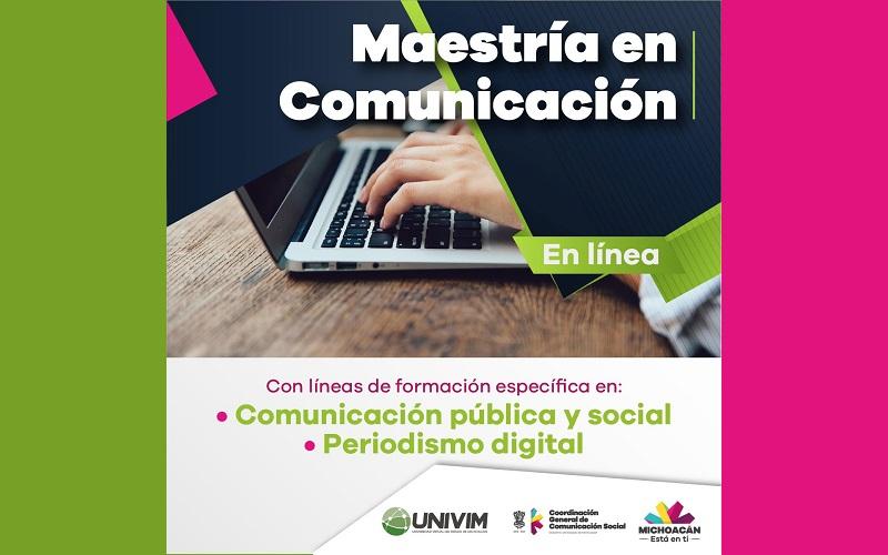 Esta Maestría abarca dos terminales de formación específica: Periodismo Digital y Comunicación Pública y Social