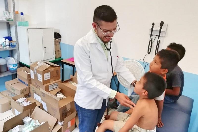 La titular de la Se-Sipinna, Yolanda Equihua Equihua, informó que esta acción se dio gracias a la colaboración de la Secretaría de Salud en el Estado