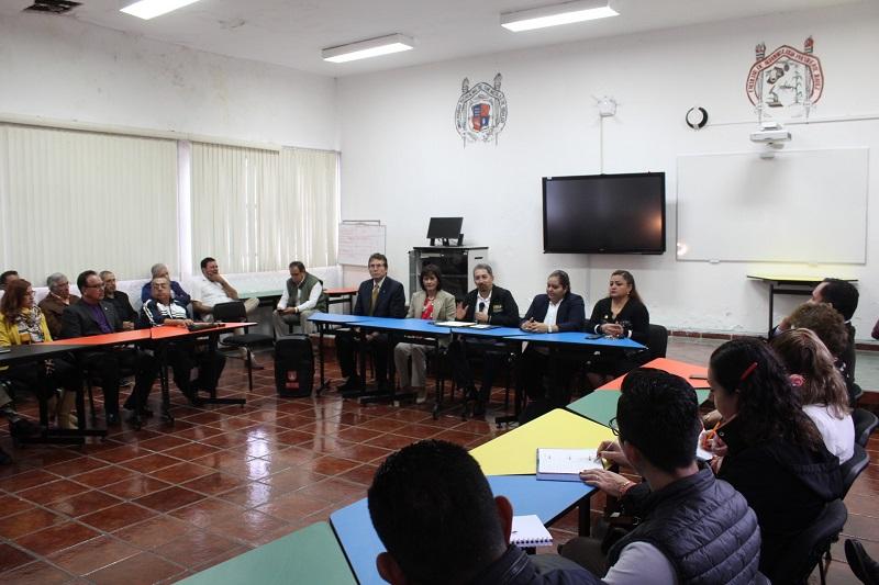 El rector nicolaita agradeció la oportunidad de mantener el diálogo y convocó a desarrollar un plan conjunto de acción, a través de una agenda preestablecida