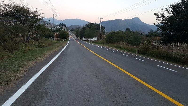 El organismo estatal también elaboró los estudios y proyectos ejecutivos correspondientes al tramo La Chichihua – entronque carretero Salitre de Cópala y de los puentes La Tortuga y El Salitre