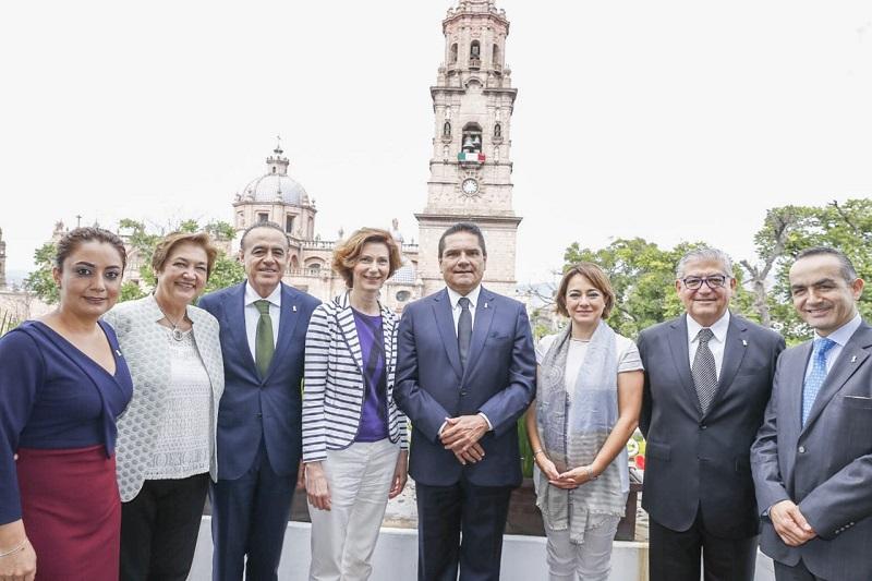La funcionaria española, Isabel Oliver, indicó a su vez que apoyará el desarrollo de la Ruta Don Vasco
