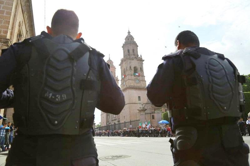 Estas acciones fueron supervisadas en todo momento por el titular de la dependencia, Juan Bernardo Corona Martínez