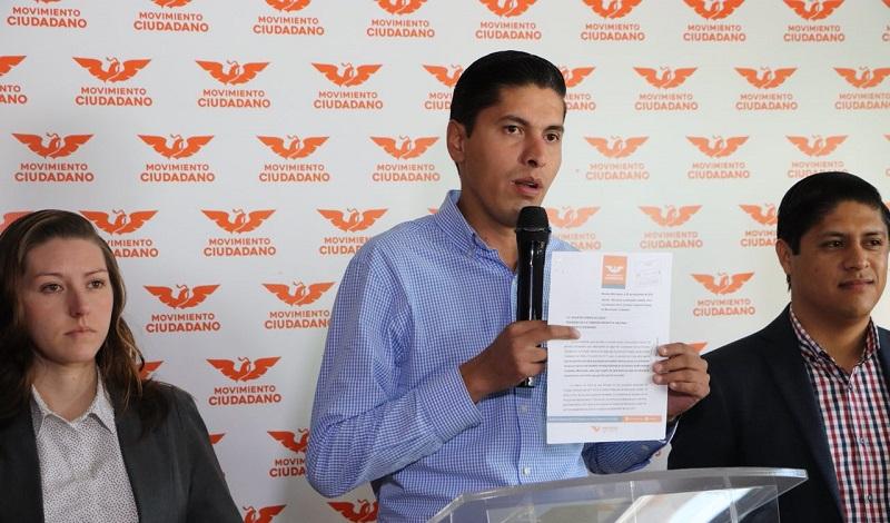 Por convicción y congruencia, Javier Paredes renuncia a salario como Coordinador Estatal de Movimiento Ciudadano