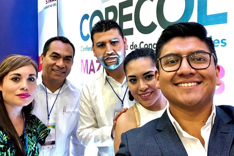 El diputado participa en la XIII Asamblea de la Copecol en Mazatlán, Sinaloa