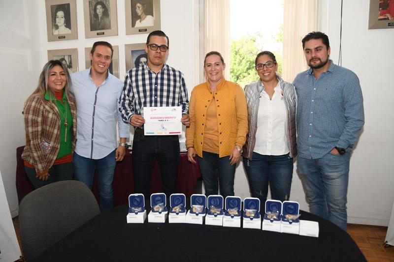 La jornada se realizó con apoyo de la asociación Yamel A.C.