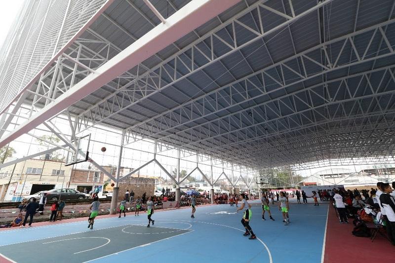 En el marco del Tercer Informe de Gobierno, Michoacán presume especialmente en este 2018, la remodelación del Centro Deportivo Ejército de la Revolución