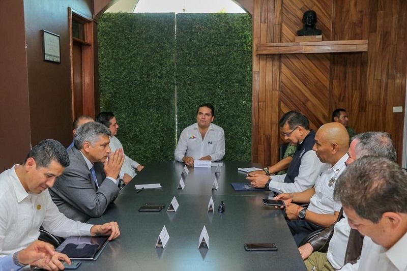Presidió el gobernador de Michoacán, Silvano Aureoles, la reunión del Grupo de Coordinación Michoacán en Sahuayo