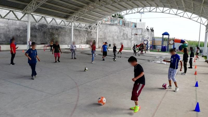 En lo que va del año, 13 mil 487 personas han sido beneficiadas con acciones deportivas, informa la SSP de Michoacán