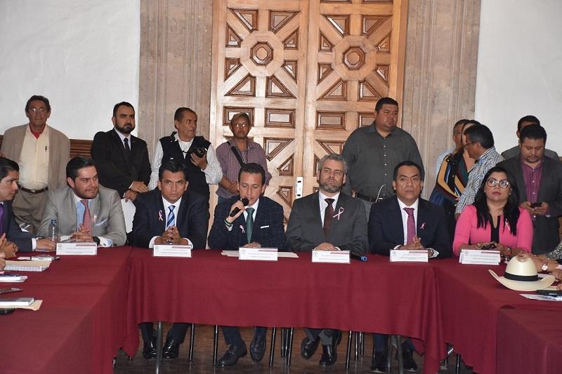Antonio Salas instruyó al titular de la Contraloría Interna a realizar lo conducente a efecto de iniciar los trabajos de entrega-recepción de las comisiones y comités
