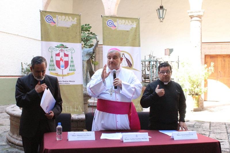 Nuestra Iglesia Diocesana a través de Cáritas hará dicha colecta en todas las parroquias y rectorías de nuestra Arquidiócesis: Carlos Garfias