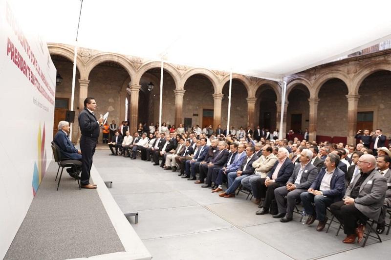 Soto Sánchez resaltó que el futuro trabajo que se tendrá de manera coordinada, es un acto de madurez