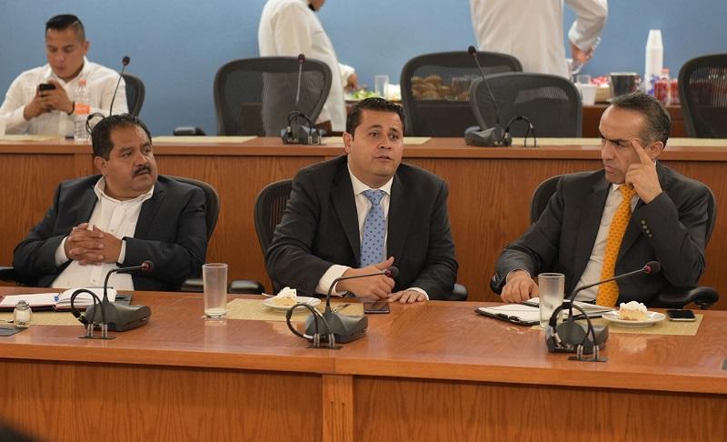 Acuerdan comisión plural para analizar las asignaciones presupuestales en salud, educación, seguridad y proyectos de infraestructura para la entidad