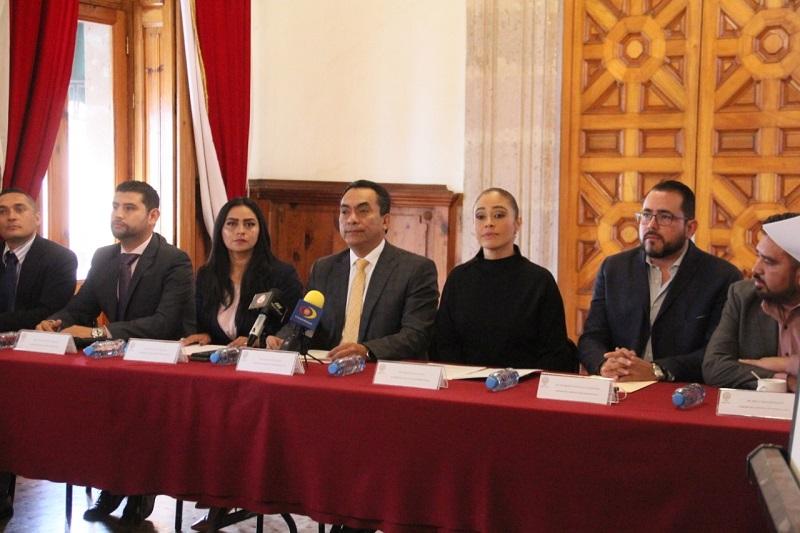 El documento fue elaborado con las propuestas de los distintos sectores sociales de Michoacán, aseguraron los legisladores del sol azteca