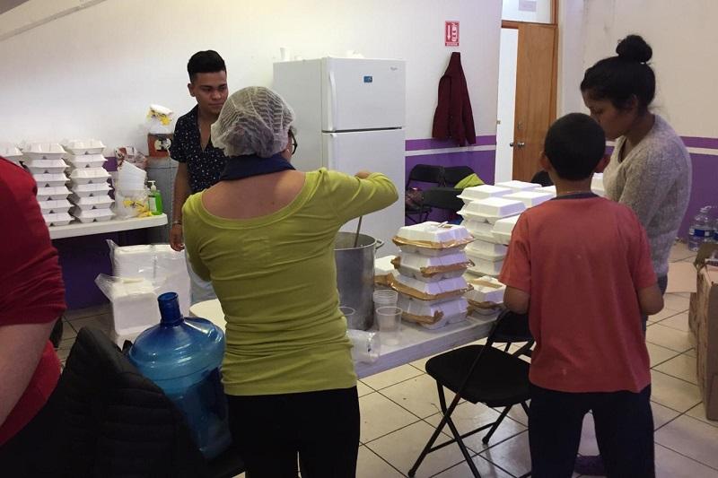 64 personas han acudido al Auditorio Lic. Servando Chávez, refugio temporal habilitado por la contingencia