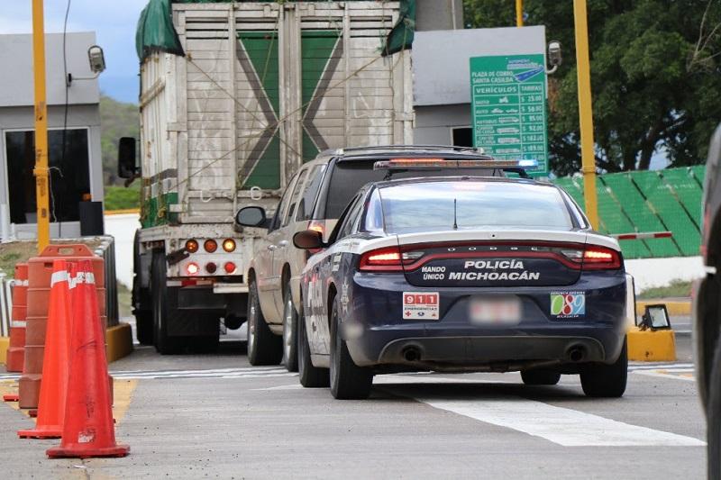 Ésta y otras acciones mantienen a la baja la incidencia delictiva en la autopista