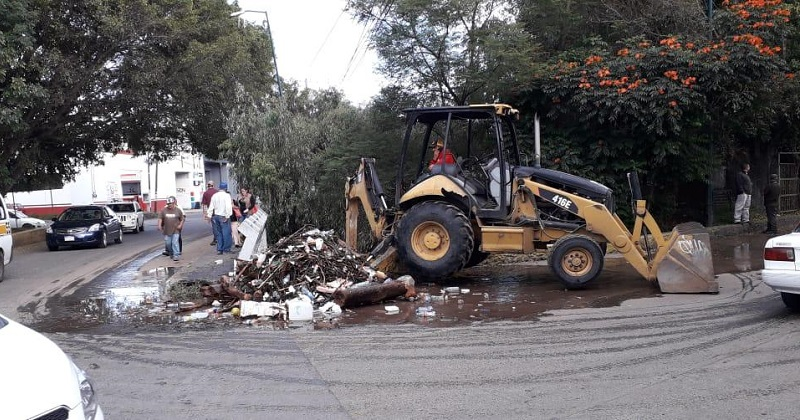 Refuerza Servicios Públicos tareas de limpieza en colonias de Morelia