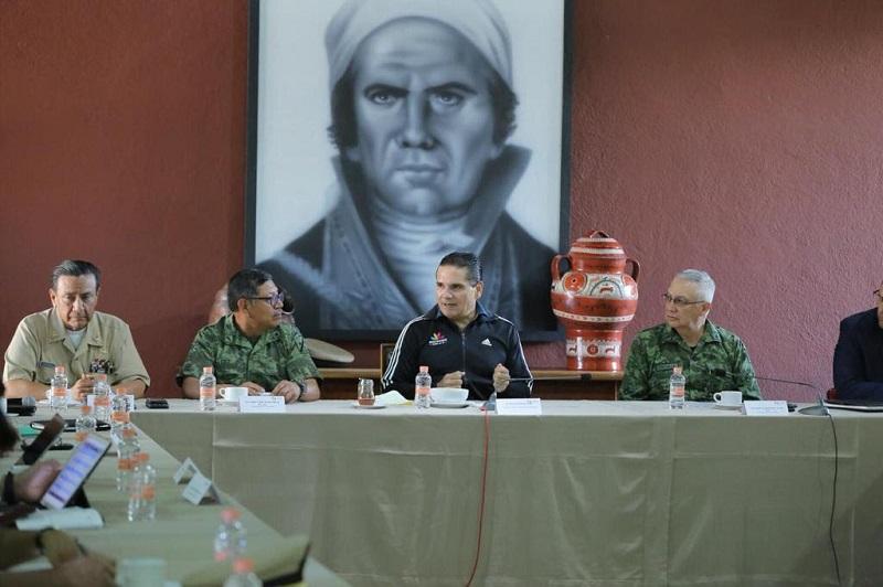 Luego de recuperar el control de la seguridad en Zamora, el GCM presenta los avances obtenidos gracias a la coordinación Estado- Municipio