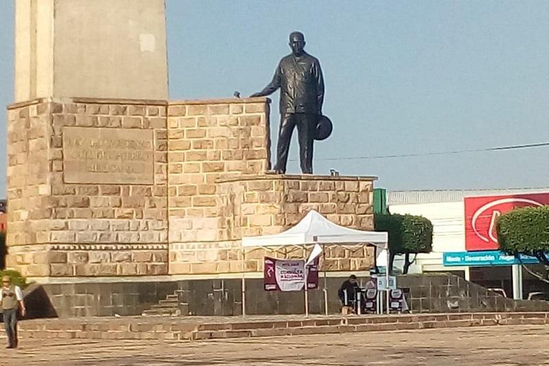 Las mesas que se visitaron fueron las ubicadas en el Obelisco al General Lázaro Cárdenas; en la Calzada Juárez, frente al Zoológico de Morelia; en la Plazuela de Carrillo; en la Plaza Juárez; y, en la Plaza Melchor Ocampo
