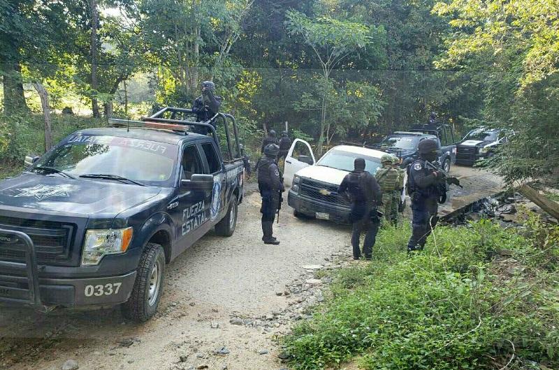 Todo lo asegurado fue consignado por la Policía Estatal ante la Agencia del Ministerio Público Federal en el municipio  de Zihuatanejo
