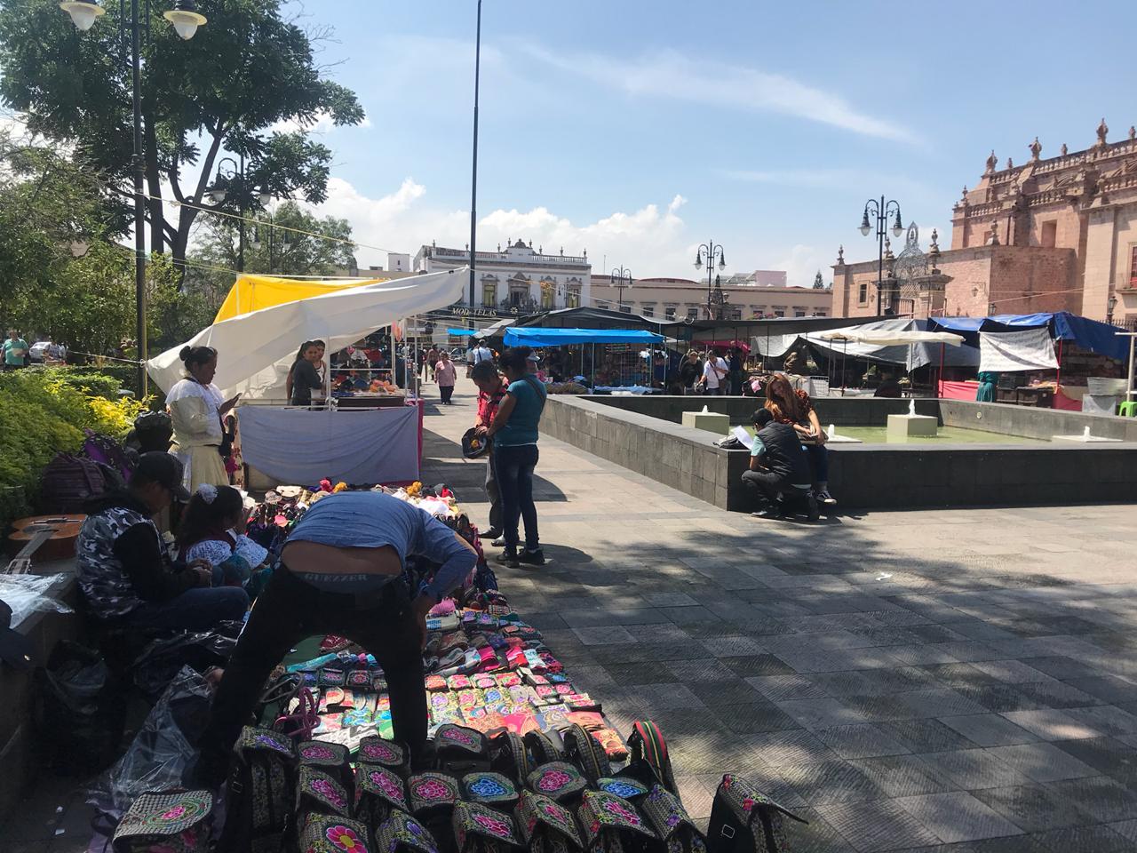 El Ayuntamiento de Morelia permite comercio ambulante en el Centro Histórico pese a Bando que lo prohíbe