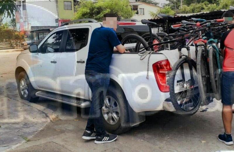"""Los deportistas venían llegando de un reto ciclista de la ciudad de Uruapan denominado """"Chaenaendurobaike"""" donde habían participado"""