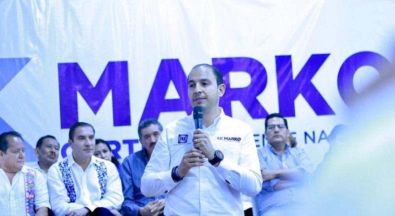 México no necesita programas asistencialistas, sino proyectos de crecimiento y desarrollo: Marko Cortés