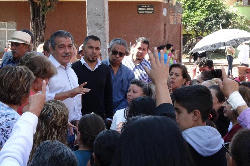 Morón Orozco recordó que las gestiones ante la federación continúan por lo que pidió a la ciudadanía confiar que en unos días más se esté apoyando con la recuperación de enseres domésticos