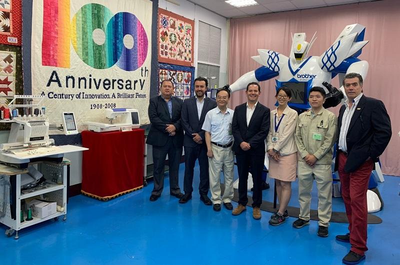 La delegación de funcionarios y empresarios que se encuentran en Asia visitaron la zona de procesamiento de exportación de Kaohsiung