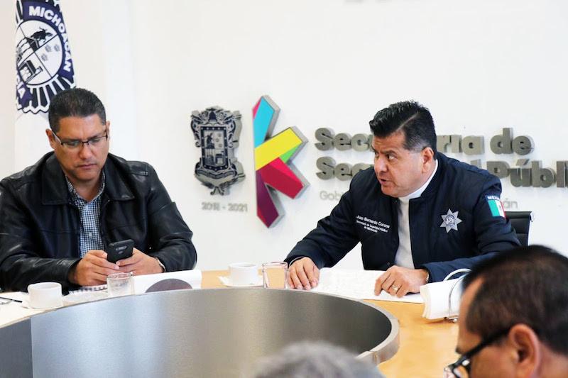 Se reunieron el titular de la institución, Juan Bernardo Corona Martínez, acompañado del coordinador de Cocotra, Marco Antonio Lagunas Vázquez