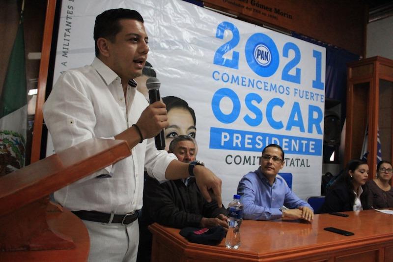 Todo el panismo será parte de la toma de decisiones con una dirigencia incluyente: Oscar Escobar