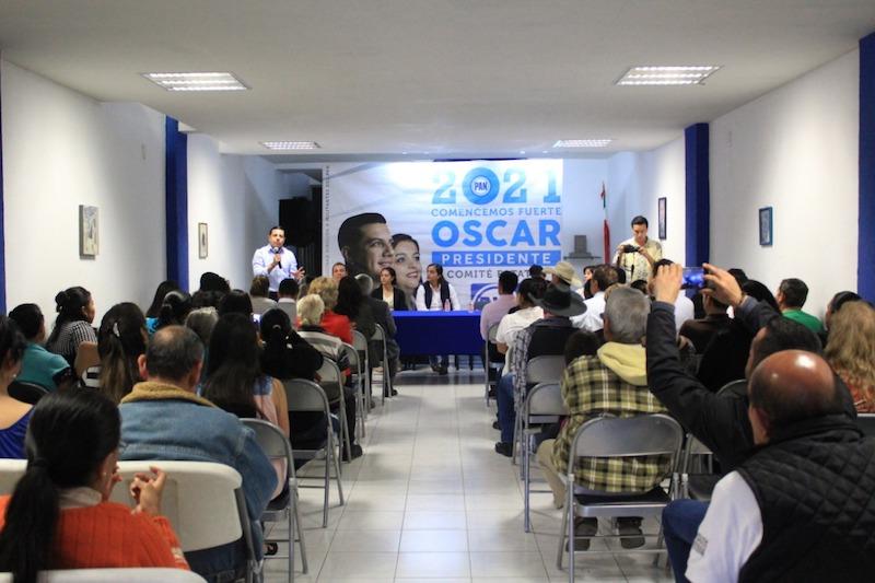 Trabajando con el perdón y la generosidad el partido se fortalecerá: Óscar Escobar