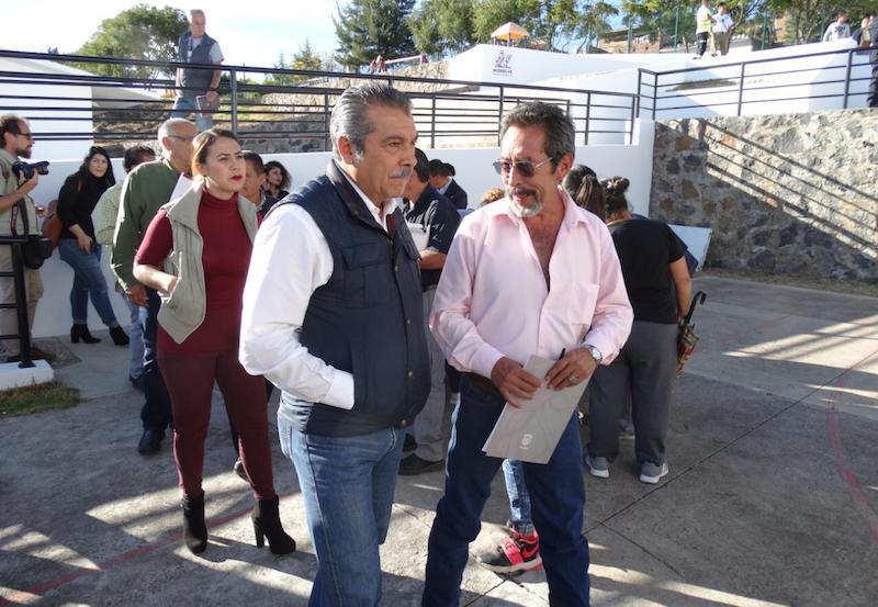 Raúl Morón presidió el foro Gobierno Honesto y Participación Ciudadana, que se realizó la tarde de hoy en el Centro de Desarrollo Comunitario de San Isidro Itzícuaro