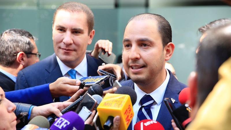 Los anuncios se realizaron en el marco de la reunión previa de los senadores; México necesita un PAN unido y fuerte, reiteró