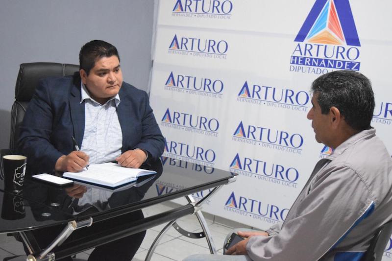 Hernández Vázquez visitará las casas enlace en Jacona y Zacapu dos veces al mes; en próximos días aperturará su casa enlace en Tangancícuaro