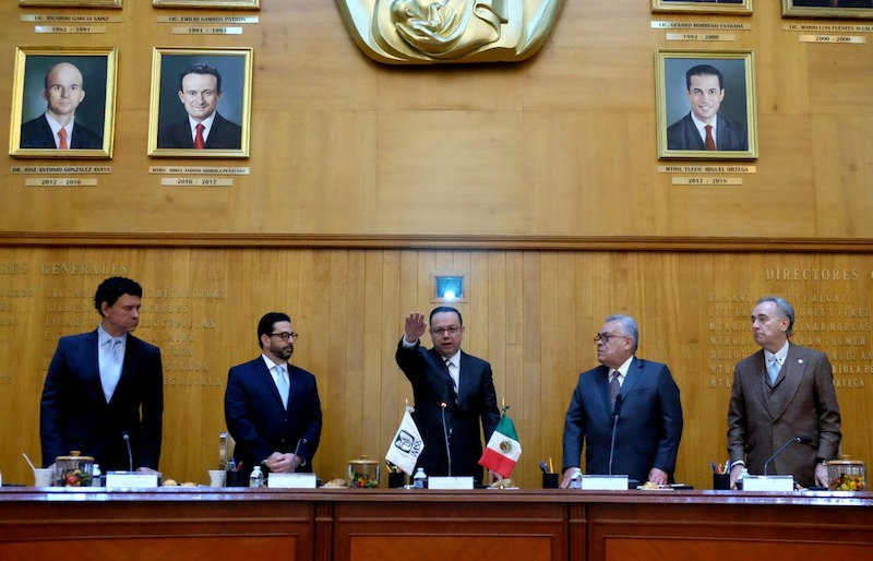 Representantes de los sectores obrero, patronal y gubernamental expresaron su respaldo y confianza al nuevo Director General