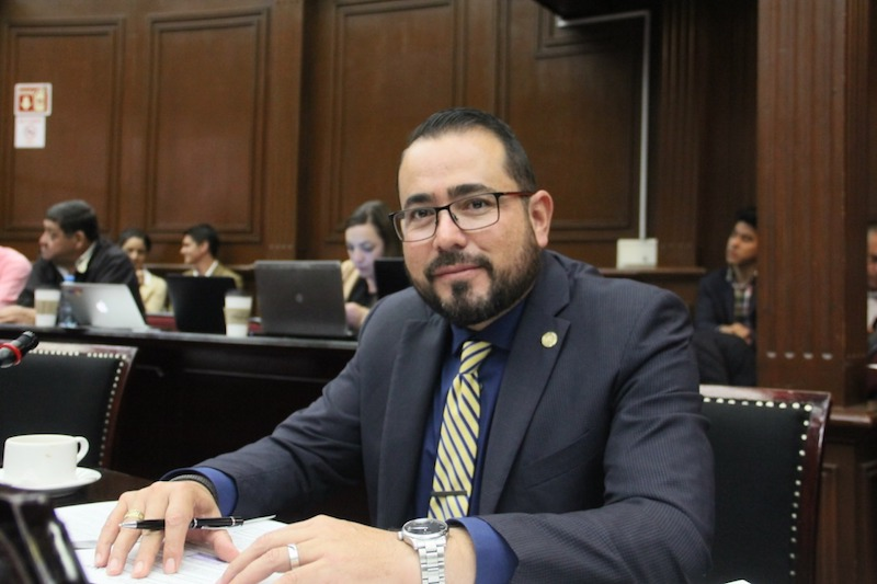 """El diputado local por el Distrito de Puruándiro dijo que """"en el caso de Michoacán estamos claros que sería un error pedir a las autoridades estatales abdicar de su responsabilidad en la materia"""""""