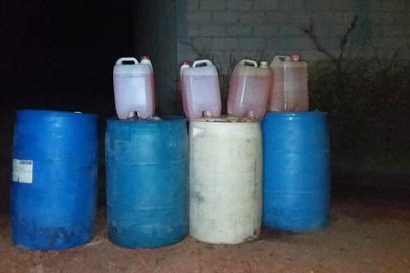 Los cincos detenidos, armas, hidrocarburo y vehículo serán puestos a disposición ante la autoridad competente