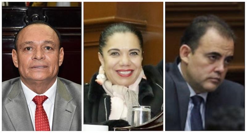 Wilma Zavala, Salvador Arvizu y Baltazar Gaona votaron en contra de la instrucción de sus respectivas bancadas