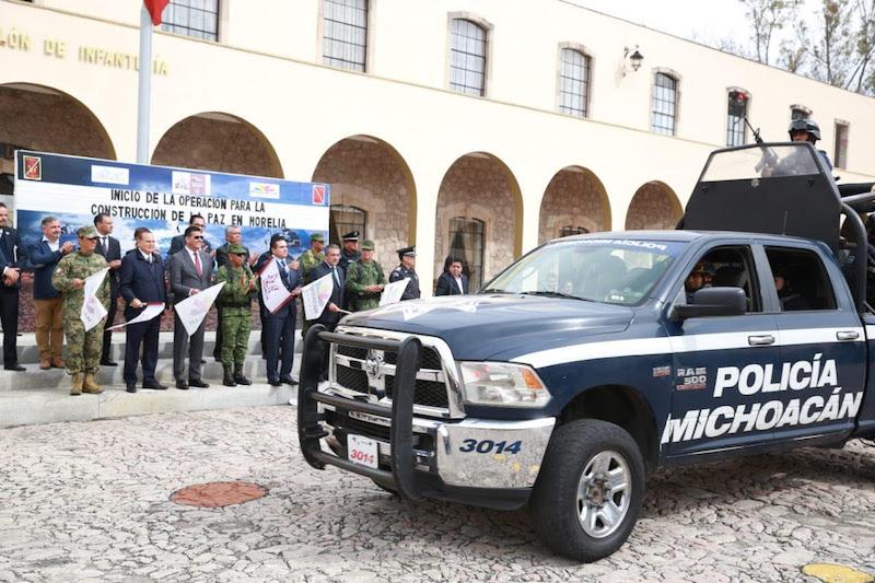 Este modelo se replicará en todas las regiones del estado; en 6 municipios se tendrá puntual cuidado y atención para garantizar la paz y la tranquilidad en Michoacán