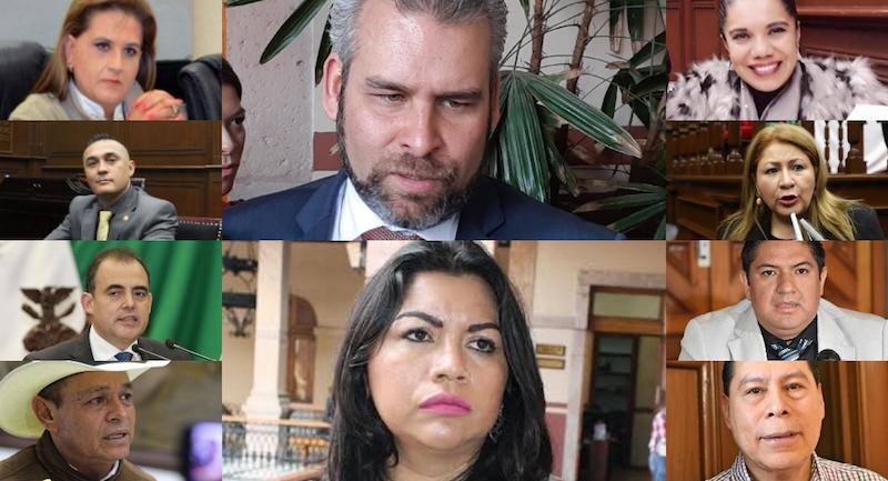 Al coordinador y a la vicecoordinadora del Morena en la 74 Legislatura, Alfredo Ramírez y Cristina Portillo, respectivamente, así como a la coordinadora del PT, Brenda Fraga, les ha faltado talento y capacidad para convencer y para sumar